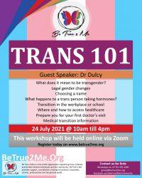 Trans 101 – Winter 2021